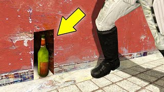 THE MOST SNEAKY HIDING SPOT EVER! (Gmod Prop Hunt)