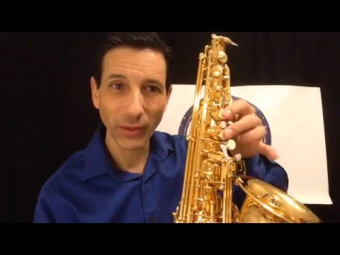 Saxophone Fingering Chart - How to Read Notes