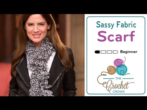 How to Knit a Scarf: with Sassy Fabrics by Red Heart