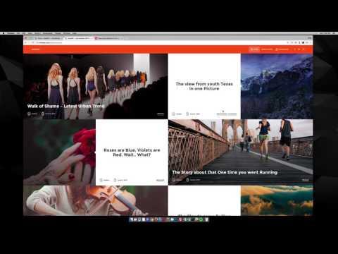 NowWP WordPress Theme Demo & Settings