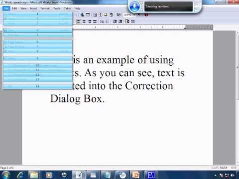 Free Speech Recognition Tutorial 6 - Dictating To Other Word Processors