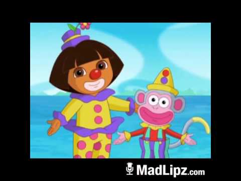 DORA AND BOOTS ARE HORNY CLOWNS
