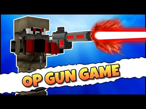 MEGA LASER GUN!! - Minecraft OP Modpack Battle