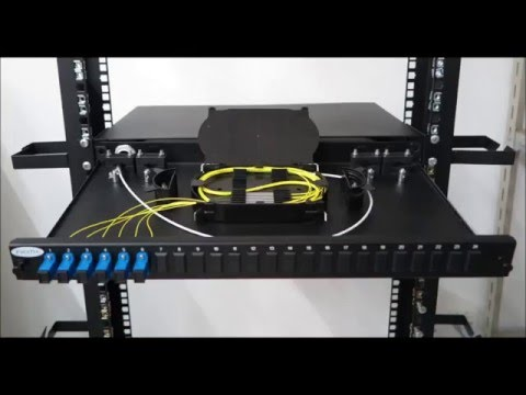 How does fiber optic patch panel work?