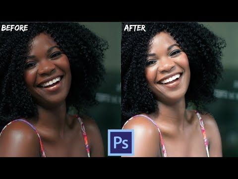 How to Change Skin Color in Photoshop - Photoshop Tutorial