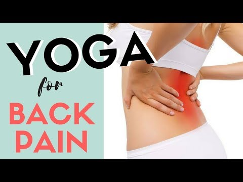 7 YOGA Stretches for Low Back Pain + Printable Download PDF