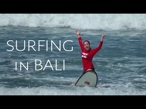 LEARN TO SURF IN BALI INDONESIA with PRO SURF SCHOOL | TRAVEL