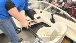 Bubble Purge™ SeaStar Hydraulic Steering Bleed Repair OST