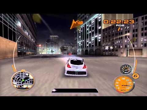 Midnight Club 3: Dub Edition REMIX - Nissan Versa Concept race through Detroit