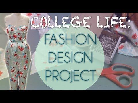 VLOG| Life as a Fashion Design Major