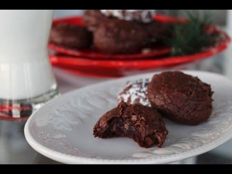 Dark Chocolate Lava Cookies(Flourless, Oiless, Butterless, Yolkless)