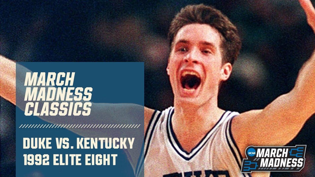 Duke vs. Kentucky (1992): Christian Laettner's shot - FULL GAME