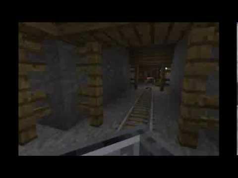 Mine Shaft Short Roller Coaster - Minecraft PE (0.8.0)