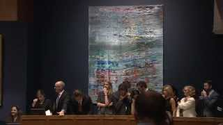 Historic Recordbreaking Contemporary Art Evening Auction