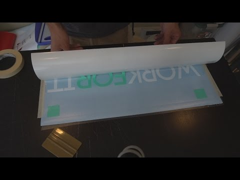 2 Color Vinyl Decal Cutting How-To