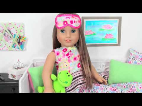 How to Make a Doll Sleeping Mask - Doll Crafts