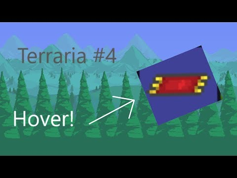 Terraria | #4 | Flying Carpet & LIFE CRYSTAL!! |