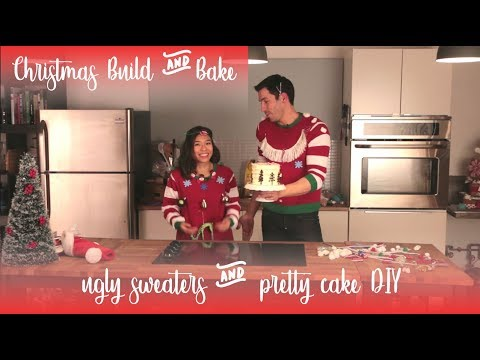Build & Bake with Linda and Drew - Ugly Sweater