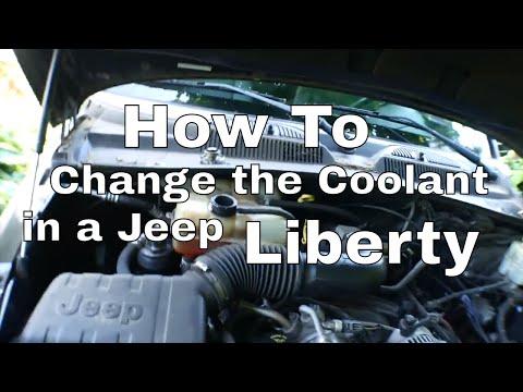 Jeep Liberty Coolant Change