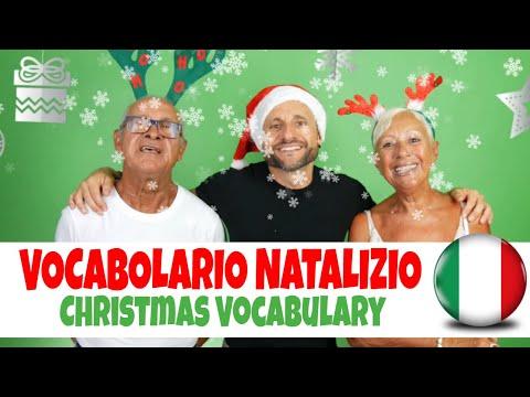 Learn Italian: Improve Italian Comprehension and Learn Italian Christmas Vocabulary Words [IT]
