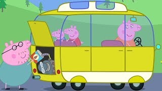 Peppa Pig English Episodes Camper Van! Camping Holiday Special 2018   Peppa Pig Official