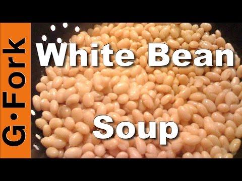 White Bean Soup with Kale Recipe - GardenFork