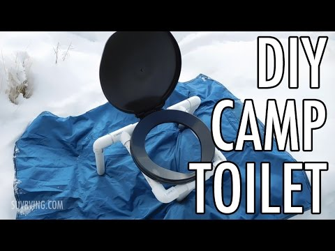 Compact DIY Portable Camp Toilet (a Cheap, Easy Camping Toilet)