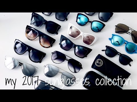 Sunglasses Collection 2017    QUAY AUSTRALIA + CHANEL + MORE    Eliana Jalali