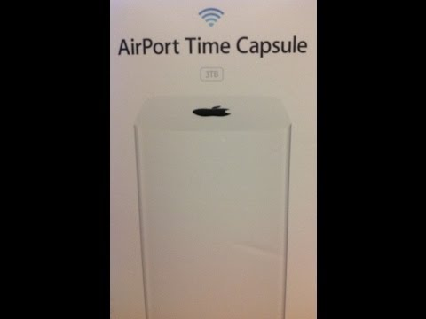Installing the New Apple Time Capsule with a Verizon Wireless Router