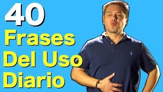 40 FRASES en Inglés que vas a necesitar todos los días!