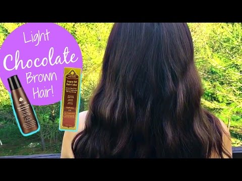 One 'n Only Argan Oil Hair Color 5CH Light Chocolate Brown