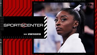 Simone Biles explains why she left the Olympic team finals   SportsCenter