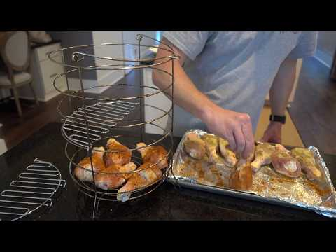 How To Cook Chicken Legs On The Char-Broil Big Easy Oilless Turkey Fryer