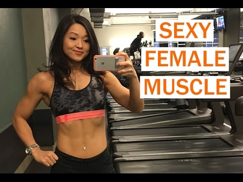 Sexy Female Muscle  – Lose Fat And Build Muscle