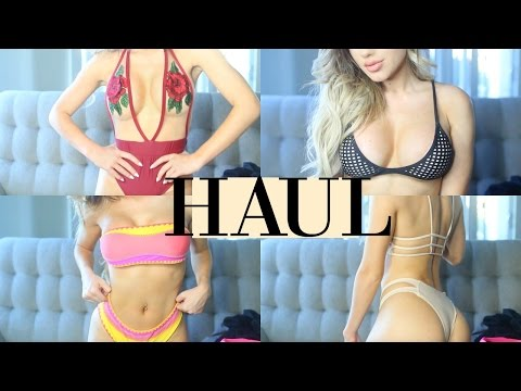 b612d17ea0 HUGE Affordable Swimsuit Try On Haul