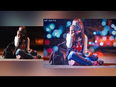 Create a Stunning Bokeh Effect In Photoshop | Bokeh Photography Tutorial