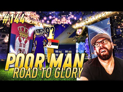 WOW I CANT BELIEVE EA DID THIS?!?!?! MY HEART - Poor Man RTG #144 - FIFA 18 Team Of The Season