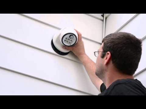 Fulcrum's Motion Sensing LED Porch Light