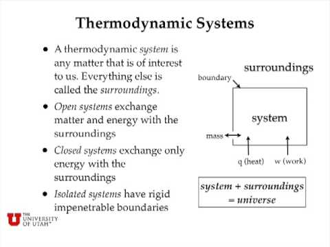 Heat and Enthalpy