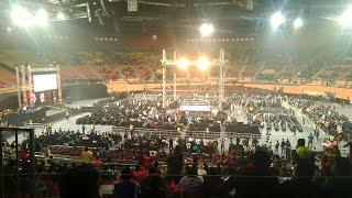 Trip to New Delhi | WWE LIVE INDIA | Indira Gandhi Stadium | (Use Headphone)