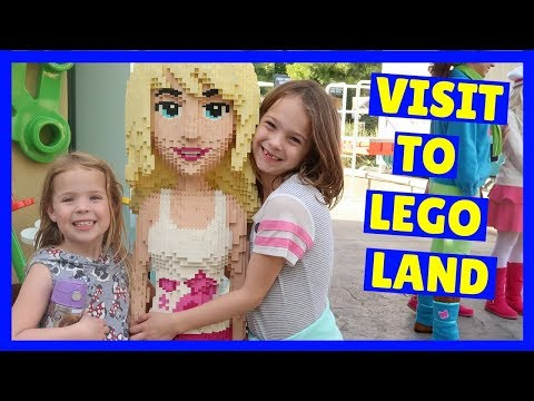 Addy and Maya Go To LEGOLAND !!!