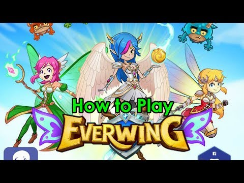 EverWing Gameplay - How to play everwing on facebook messenger