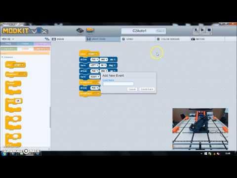 MODKIT for VEX - Simple Autonomous Movement for Programming Skills