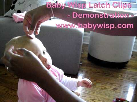 The best baby hair clips on the planet - that stay in and don't move - Baby Wisp Mini Latch Clips