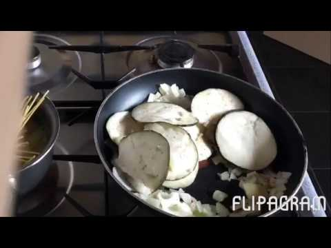 Quorn meatballs with Aubergine