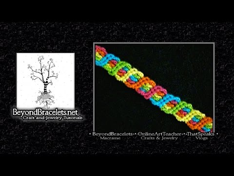 ♦ Tornado Twist Friendship Bracelet (Original Pattern) ♦