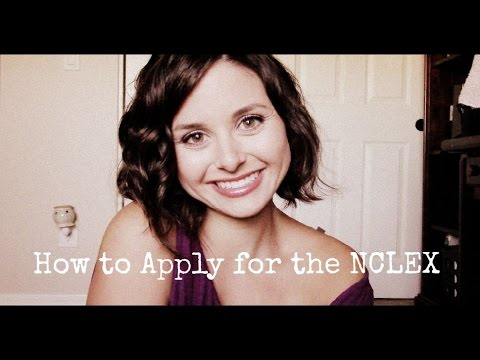 How to Apply for the NCLEX {In and Out of State}