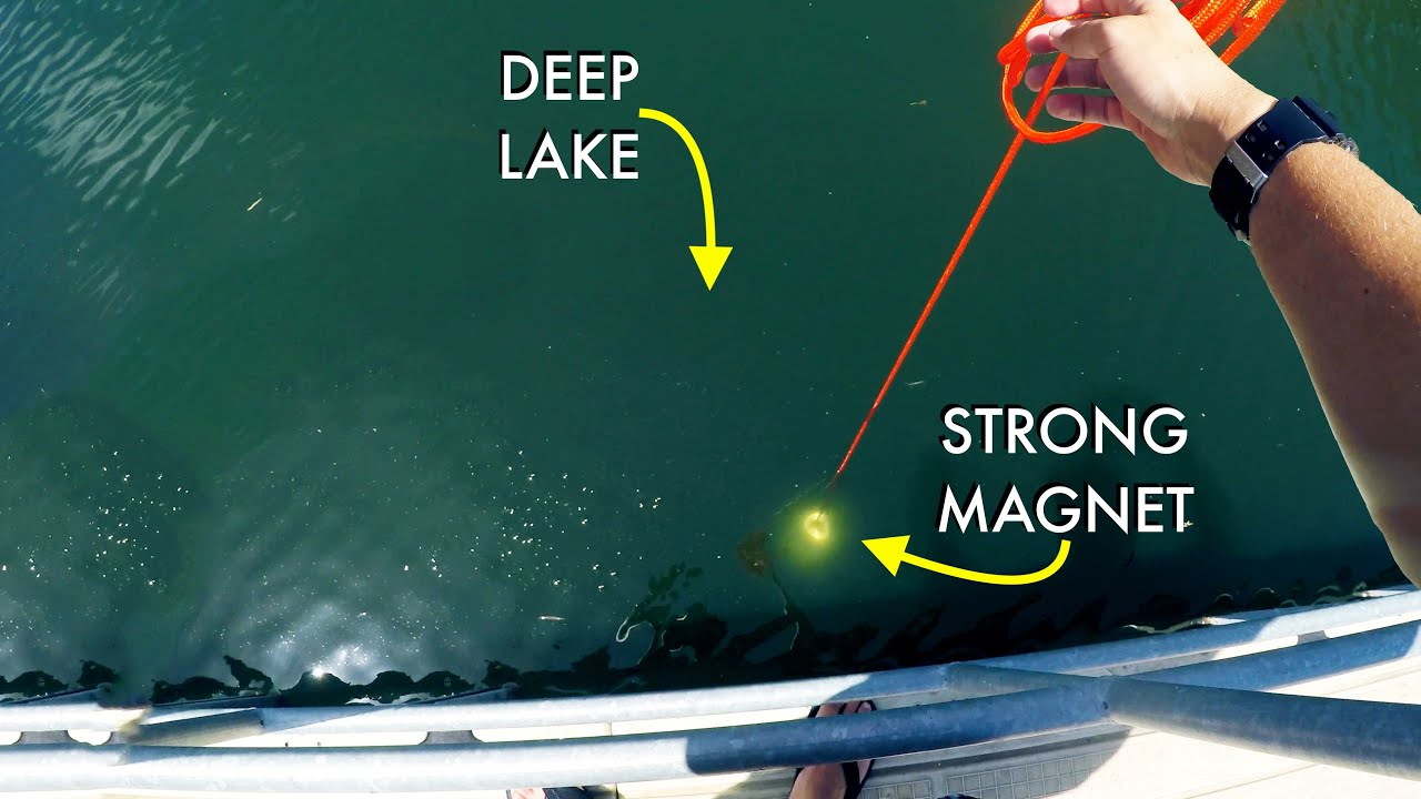 What Will My Giant Magnet Pull From Deep Lake?