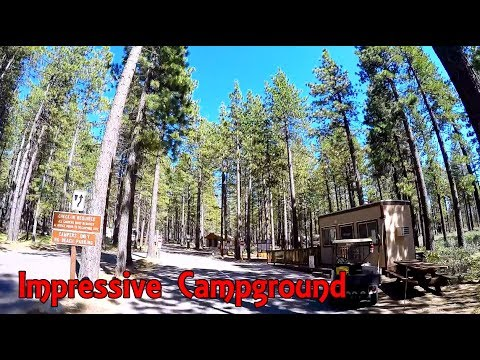 Lake Tahoe - Nevada Beach Campground Drive Through