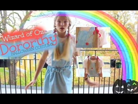 MACERWEEN DIY Dorothy Halloween costume!